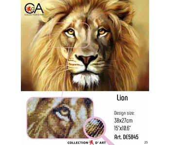 Diamond Painting leeuw