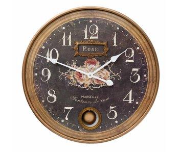 Clayre & Eef Horloge 56x6cm