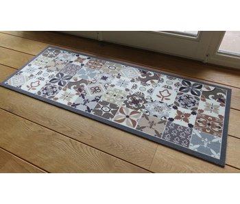 Tapijt Deco Style grijs/beige 45x120 cm