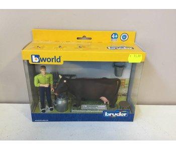 B-WORLD 62605 BOER+KOE+MELKSET