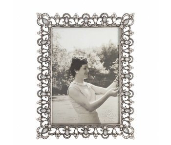 Clayre & Eef Fotolijst zilver 17x22/13x18cm