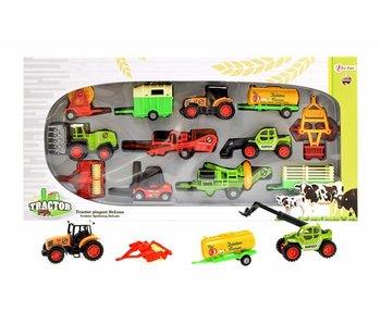 Die-Cast tractor speelset deluxe