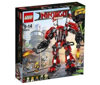 70615 LEGO NINJAGO Vuurmecha