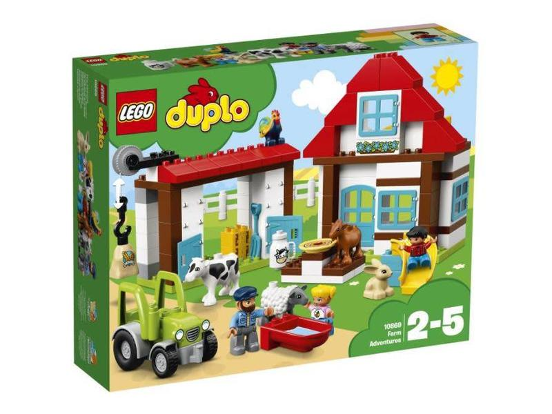 LEGO 10869 AVONTUREN OP DE BOERDERIJ