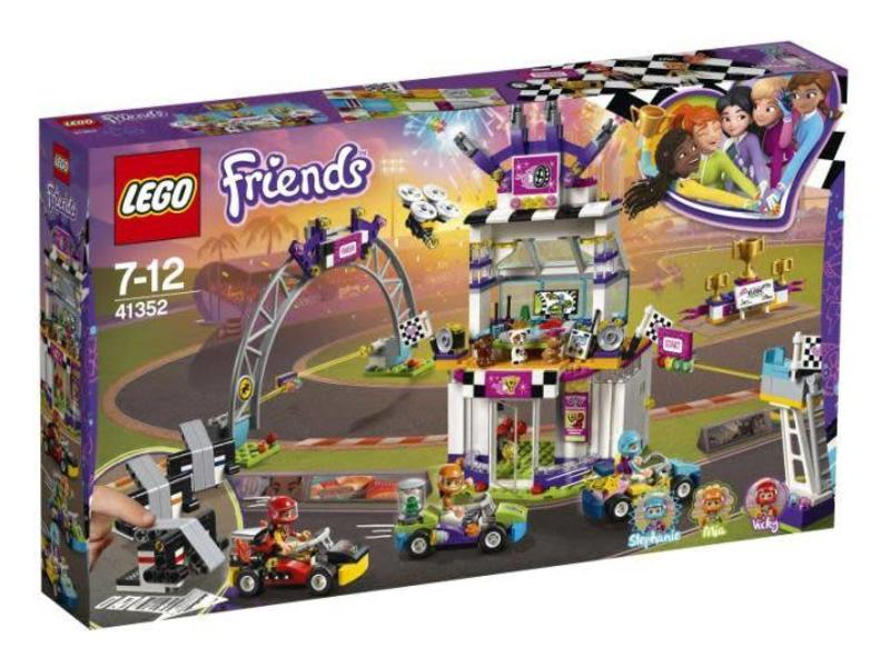 LEGO 41352 De grote racedag
