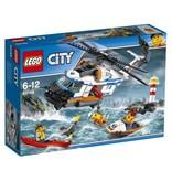 LEGO 60166 LEGO ZWARE REDDINGSHELIKOPTER