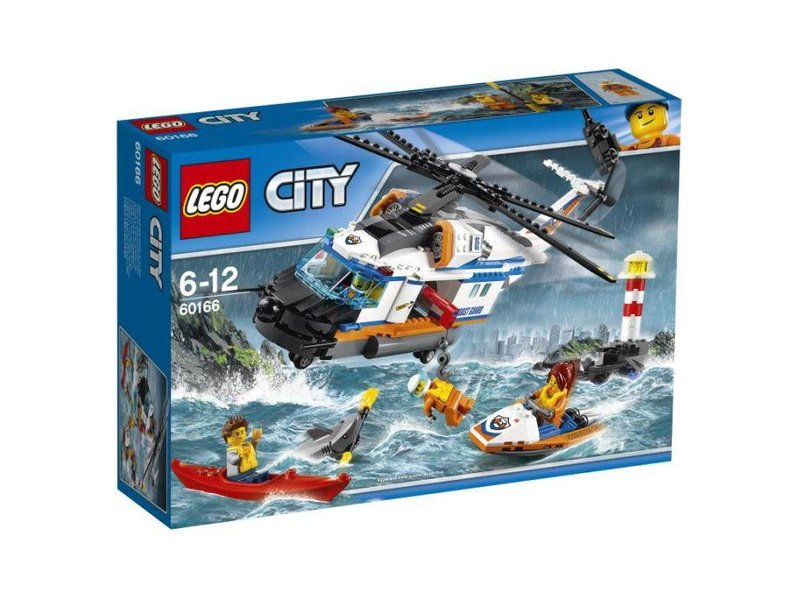 60166 LEGO ZWARE REDDINGSHELIKOPTER