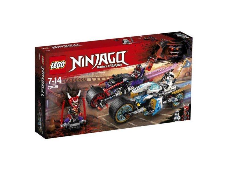 LEGO 70639 STRAATRACE VAN DE SLANGENJAGUAR