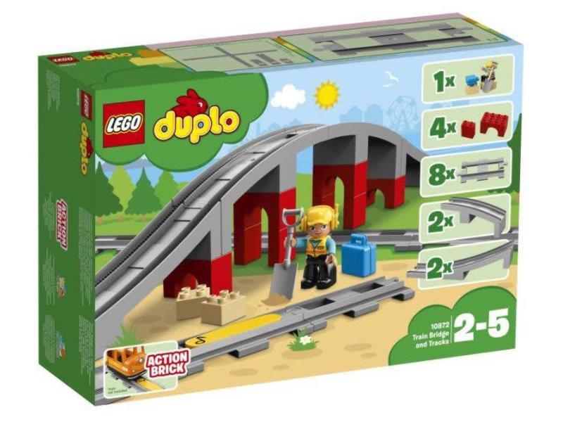 LEGO 10872 Treinbrug en rails