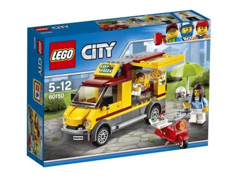 18 60150 LEGO Pizza bestelwagen