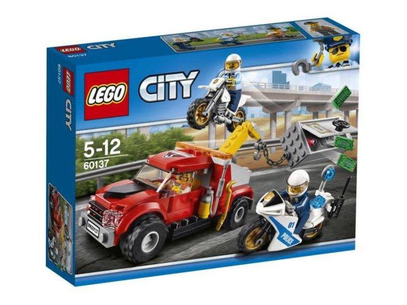 18 60137 LEGO SLEEPTRUCK PROBLEEM