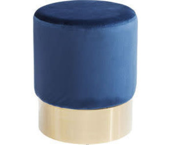 Stoel cherry blue Brass | 35 cm diameter