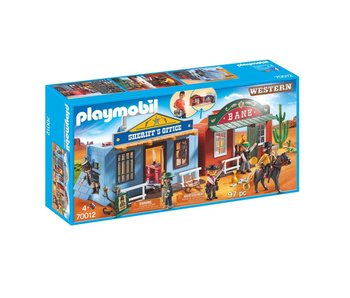 Playmobil Coffret de Far-West transportable 70012