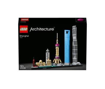 Architecture Shangai skyline -21039