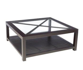 J-Line Table salon croix L100 x L100 x H40 cm