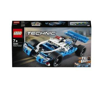 LEGO Copy of Technic vluchtwagen 42090