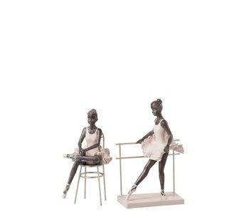 J-Line Ballerina op stoel  +- 9x12x21h