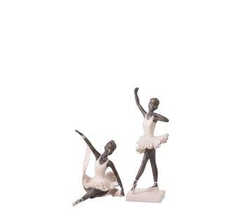 J-Line Ballerina danst in zit 11x15x14h