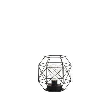 J-Line Lampe métal 16x14x17