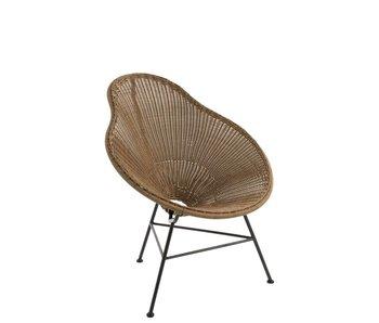 J-Line Chaise poire | 78x71x87cm
