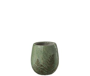 J-Line Pot Tropical S 14x14x15