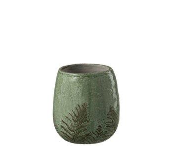 J-Line Copy of Pot Tropical 14x14x15