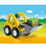 Playmobil Chargeur avec ouvrier 6775