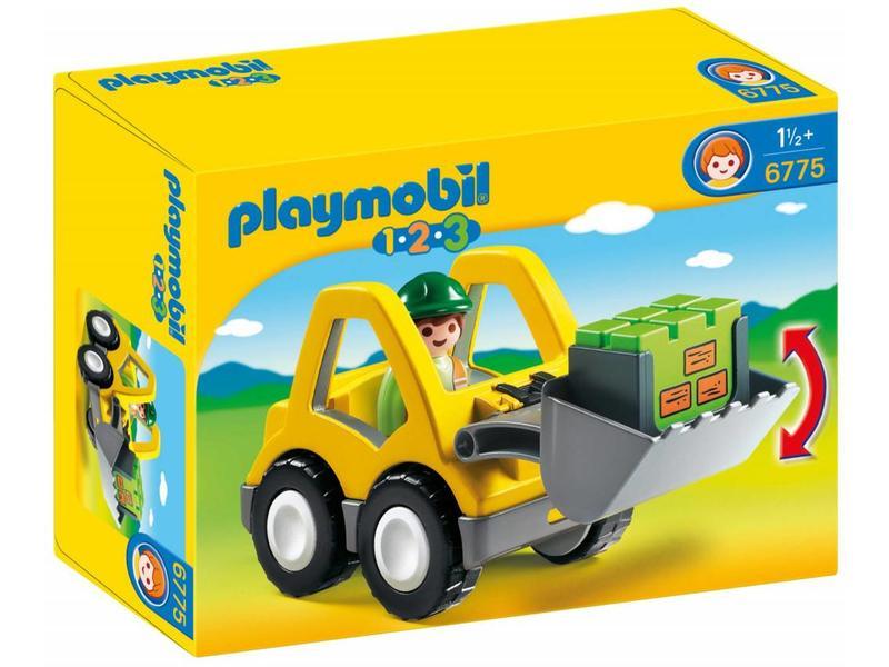 Playmobil Excavatrice avec ouvrier 6775