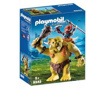 Playmobil Reuzentrol met soldatendwerg 9343
