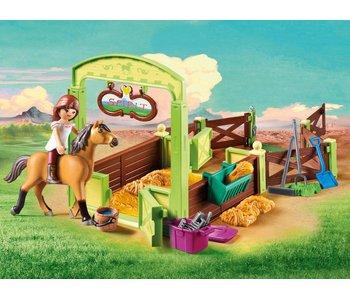 Playmobil Lucky & Spirit met paardenbox 9478