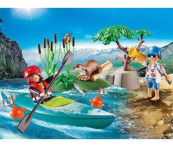 Playmobil Starter pack Kayak 70035