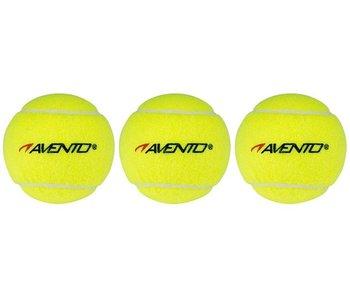 Avento Tennisballen in koker - 3 stuks