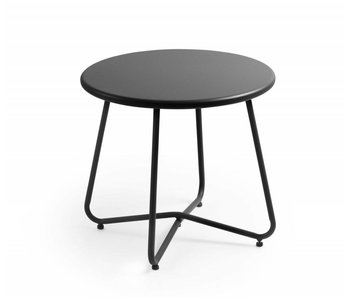 Table d'appoint Beach anthracite