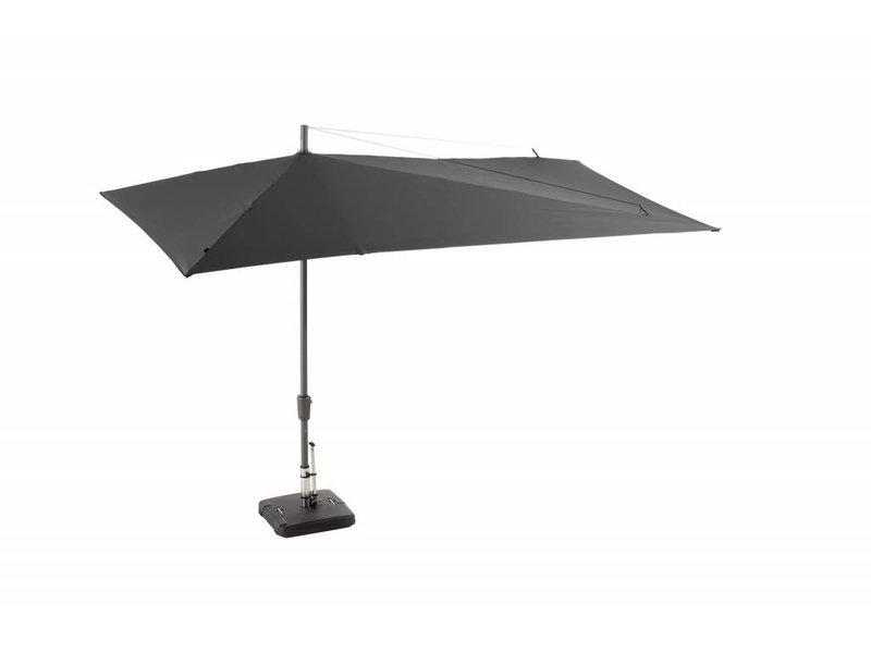 Sola parasol 360x220 grey + hoes