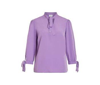 VILA Viblowy 3/4 top - purple - 36