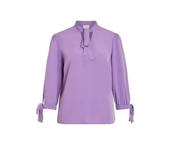 VILA Viblowy 3/4 top - purple - 40