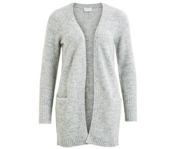 VILA Viplace knit cardigan - grey - small