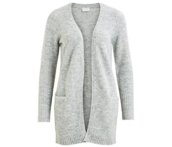 VILA Viplace knit cardigan - grey - large