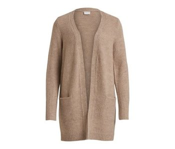 VILA Viplace knit cardigan - beige - small