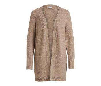 VILA Viplace knit cardigan - beige - XL