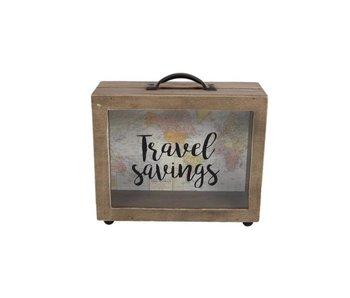 "Hamilton Living Tirelire ""Travel savings"""
