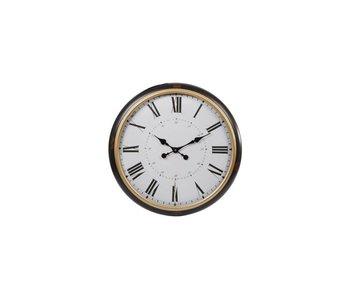 Hamilton Living Horloge Birdhill 62x8 marron/ doré