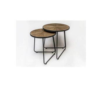 Hamilton Living Table d'appoint Nico (S) petit modèle 40x40x46h cm