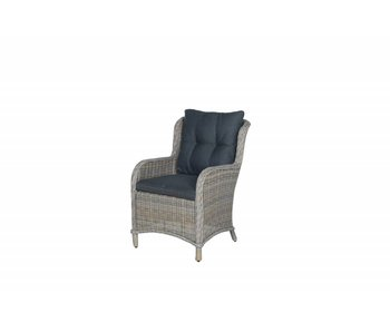 Linate dining fauteuil vintage willow (Malpensa)