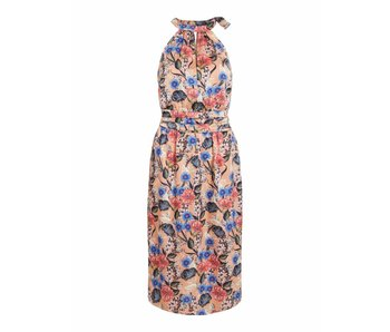 VILA Vievika S/L halterneck jurk | roze | 36