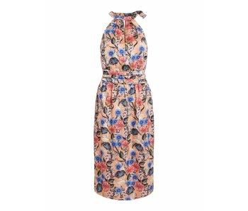 VILA Vievika S/L halterneck jurk | roze | 38