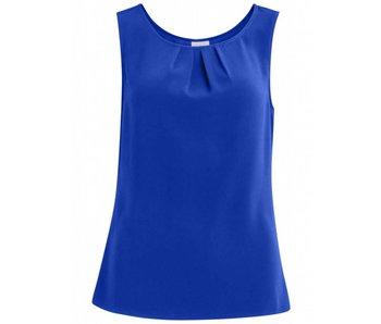 VILA Vilaia S/L top - blue - 40
