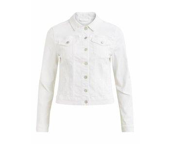 VILA Vishow denim jacket - white - small