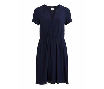 VILA Copy of Viminna dress - blue - 36