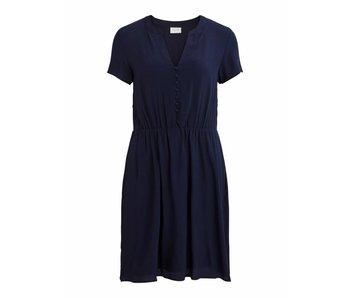 VILA Viminna dress - blue - 40
